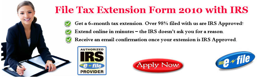 Tax Extension Form :  extension extensionfederal file tax